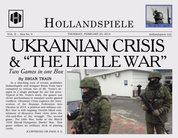 Ukrainian Crisis & The Little War