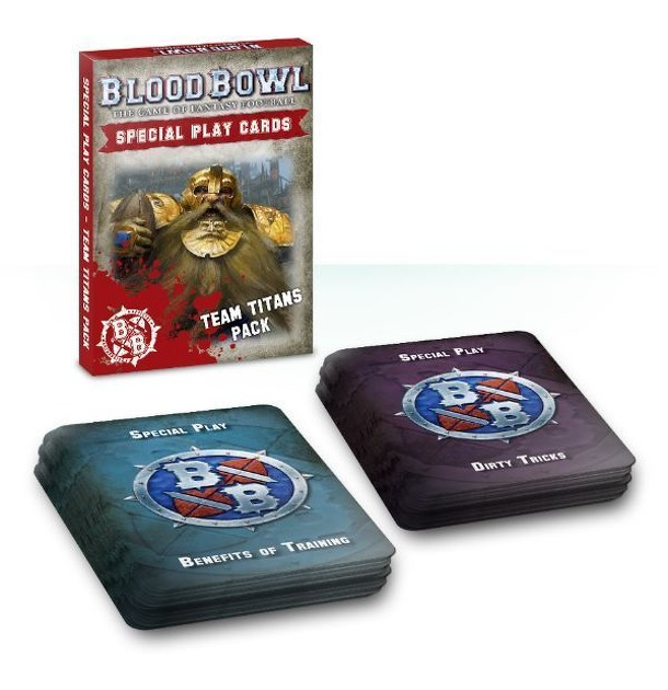 Blood Bowl (2016 edition): Team Titans Special Play Card Pack