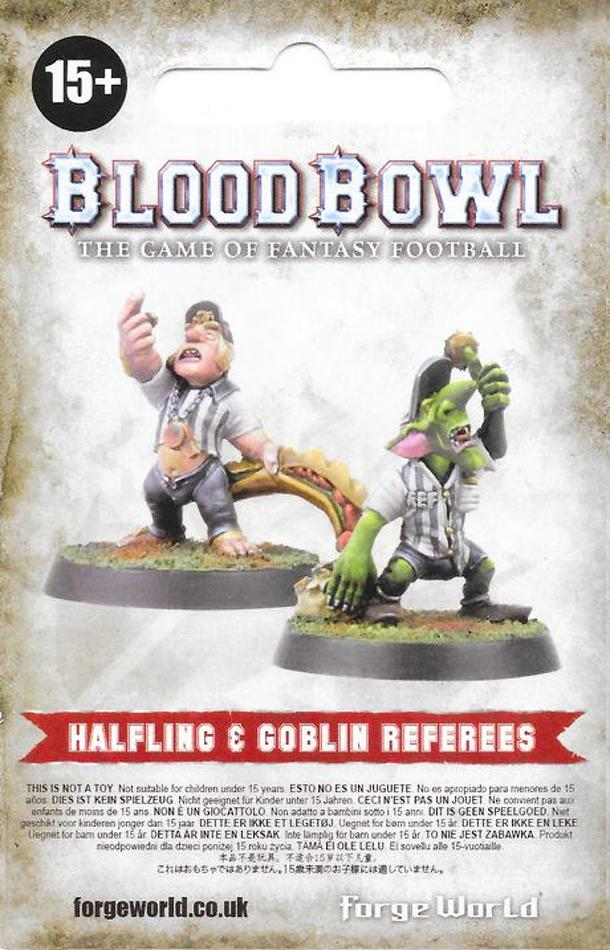 Blood Bowl (2016 edition): Goblin & Halfling Referee Rules