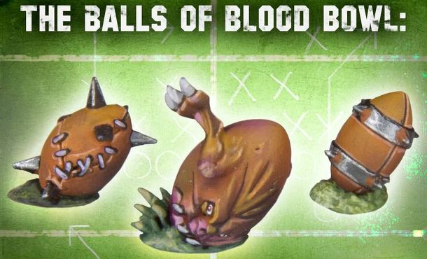 Blood Bowl (2016 edition): Special Ball Rules