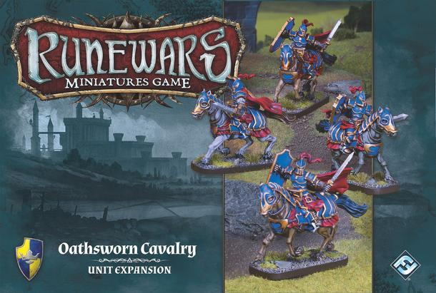 Runewars Miniatures Game: Oathsworn Cavalry Unit Expansion