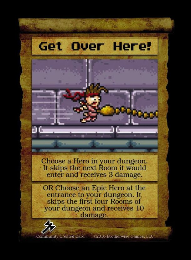 Boss Monster: Get Over Here! Promo Card