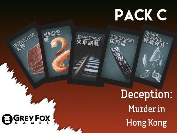 Deception: Murder in Hong Kong – Dice Tower 2017 Indegogo Promo Pack