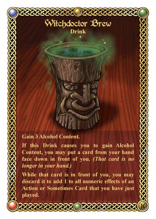The Red Dragon Inn: Witchdoctor Brew