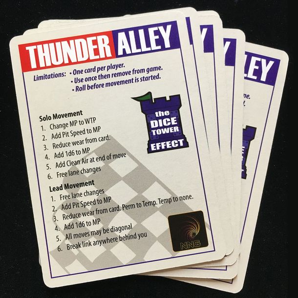 Thunder Alley: Crew Chief Expansion – The Dice Tower Effect Promo Pack