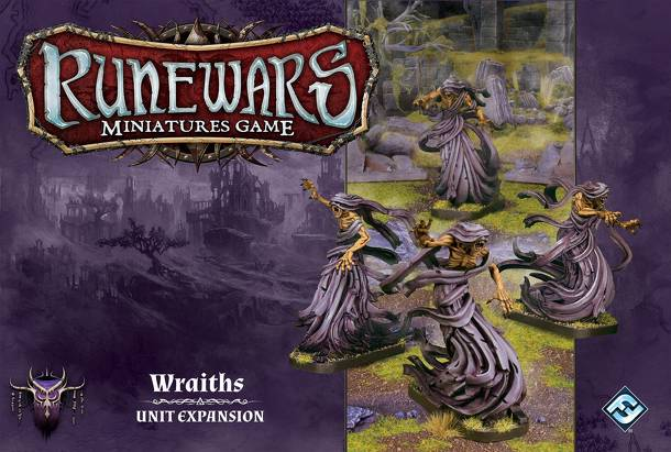 Runewars Miniatures Game: Wraiths – Unit Expansion