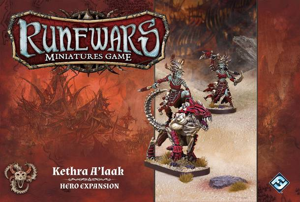 Runewars Miniatures Game: Kethra A'laak – Hero Expansion