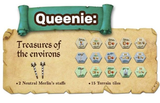 Merlin: Queenie 1 – Treasures of the Environs