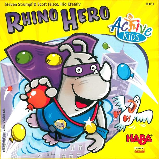 Rhino Hero Action: Active Kids