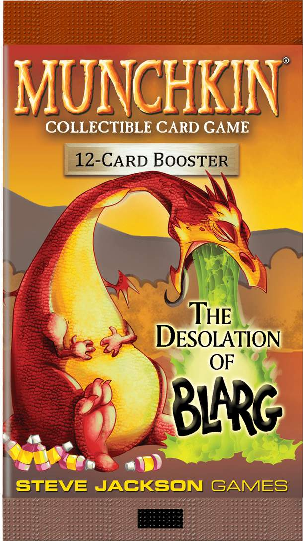 Munchkin Collectible Card Game: Booster – The Desolation of Blarg