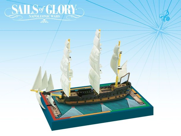 Sails of Glory Ship Pack: Bertin 1761 / Berryer 1759