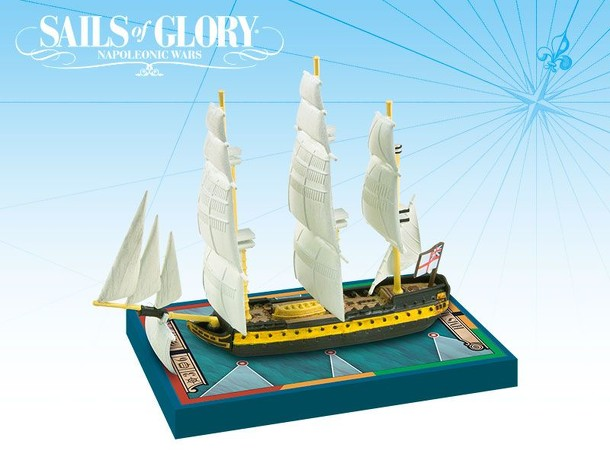 Sails of Glory Ship Pack: HMS Malta 1800 / HMS Tonnant 1798