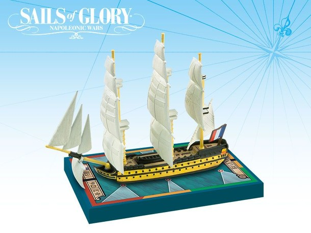 Sails of Glory Ship Pack: Bucentaure 1803 / Robuste 1806