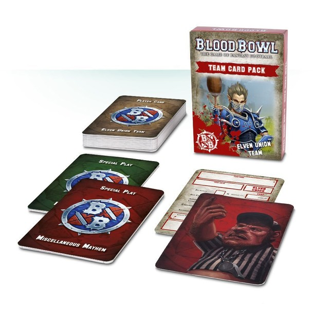 Blood Bowl (2016 edition): Elven Union Team Card Pack