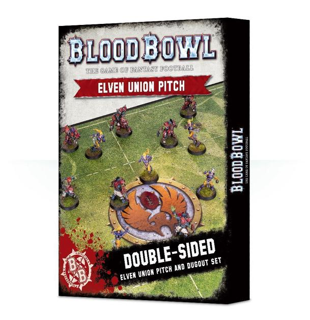 Blood Bowl (2016 edition): Elven Union Pitch