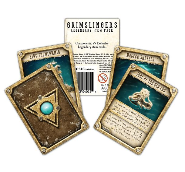 Grimslingers: Legendary Item Pack