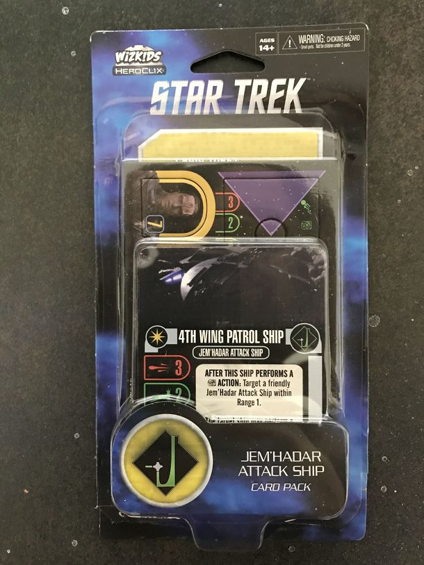 Star Trek: Attack Wing – 4th Wing Patrol Ship Card Pack