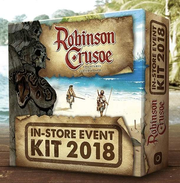 Robinson Crusoe: Adventures on the Cursed Island – In-Store Event Kit