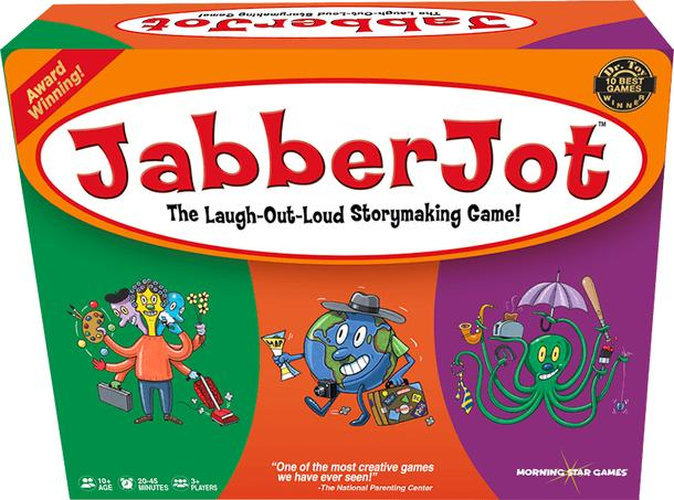JabberJot: the laugh-out-loud storymaking game