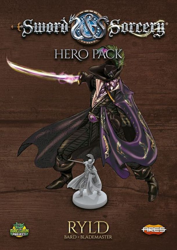 Sword & Sorcery: Hero Pack – Ryld Chaotic Bard / Lawful Blademaster.