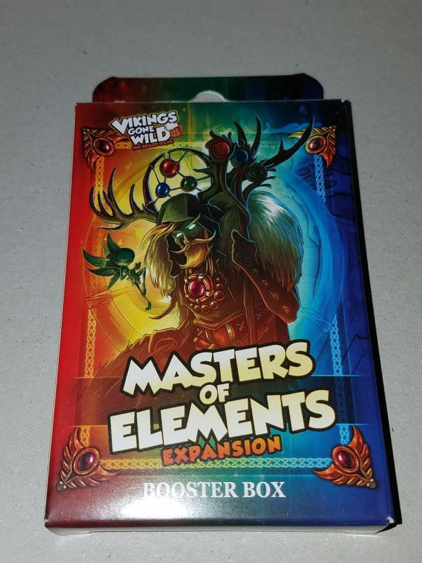 Vikings Gone Wild: Masters of Elements – Booster Box