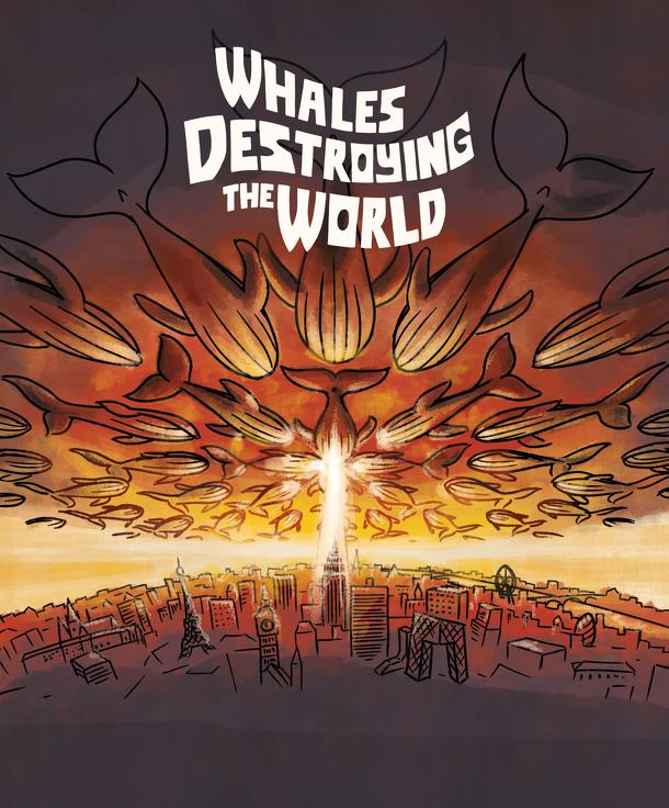 Whales Destroying The World