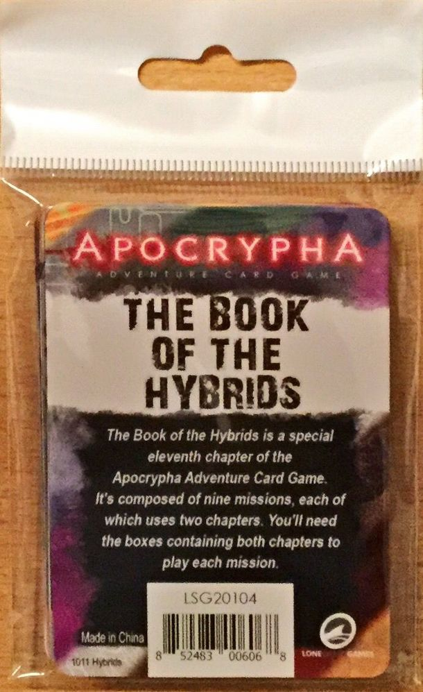 Apocrypha Adventure Card Game: The Hybrid Mission Pack