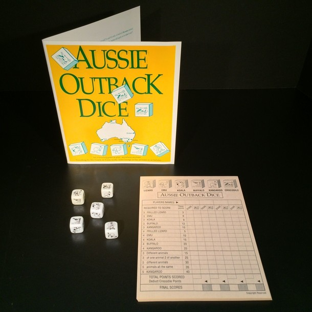 Aussie Outback Dice