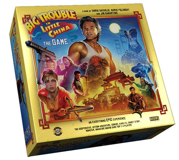 Big Trouble in Little China: The Game Deluxe Edition