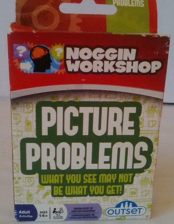 Noggin Workshop Picture Problems