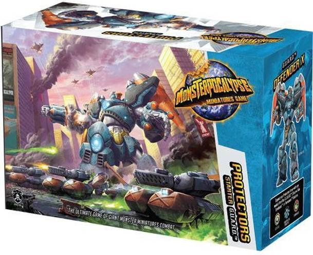 Monsterpocalypse Miniatures Game: Protectors Starter – G.U.A.R.D.