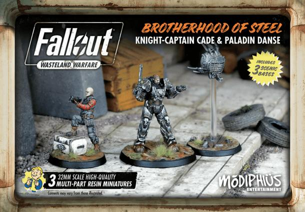 Fallout: Wasteland Warfare – Brotherhood of Steel: Cade & Danse Box
