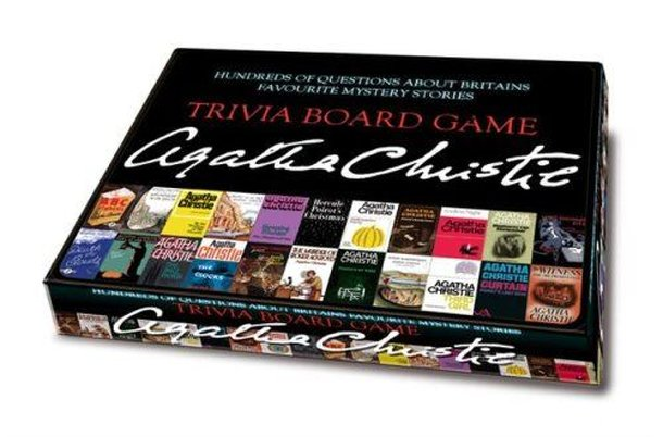 Trivia Board Game Agatha Christie