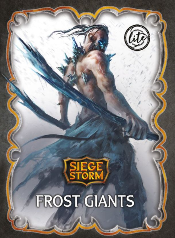 Siege Storm: Frost Giants