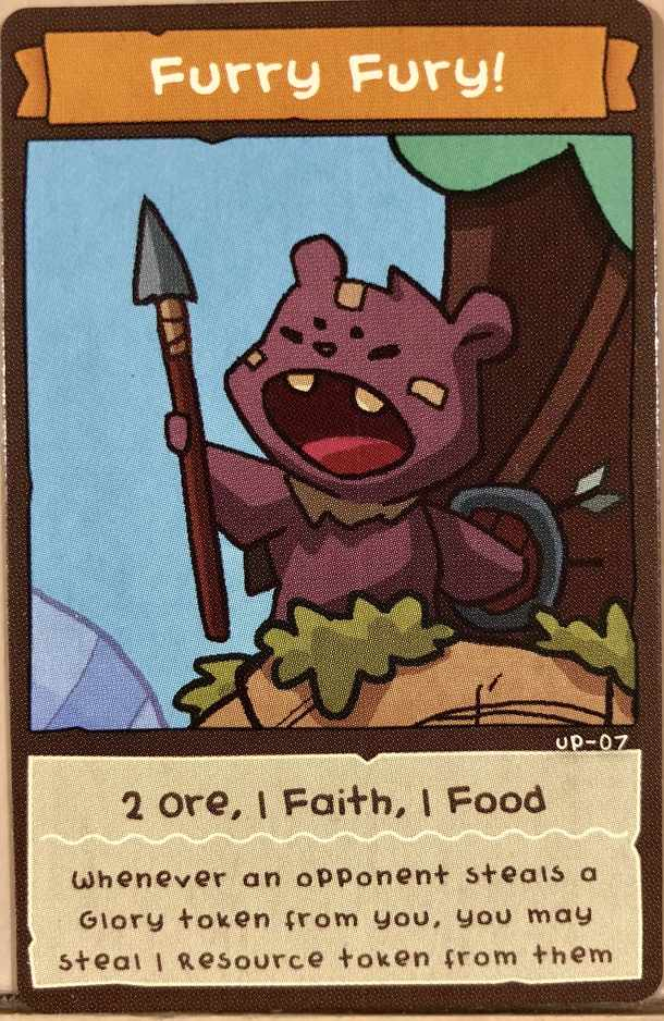 BarBEARians: Furry Fury! Promo Card