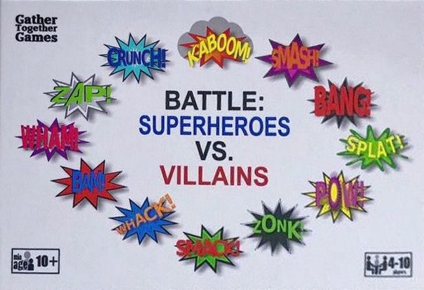 BATTLE: Superheroes vs. Villains