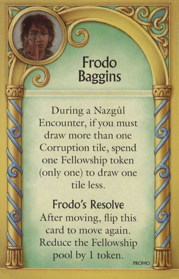 Hunt for the Ring: Frodo Baggins Promo Card