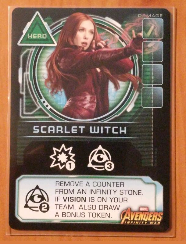 Thanos Rising: Avengers Infinity War – Scarlet Witch Promo Card
