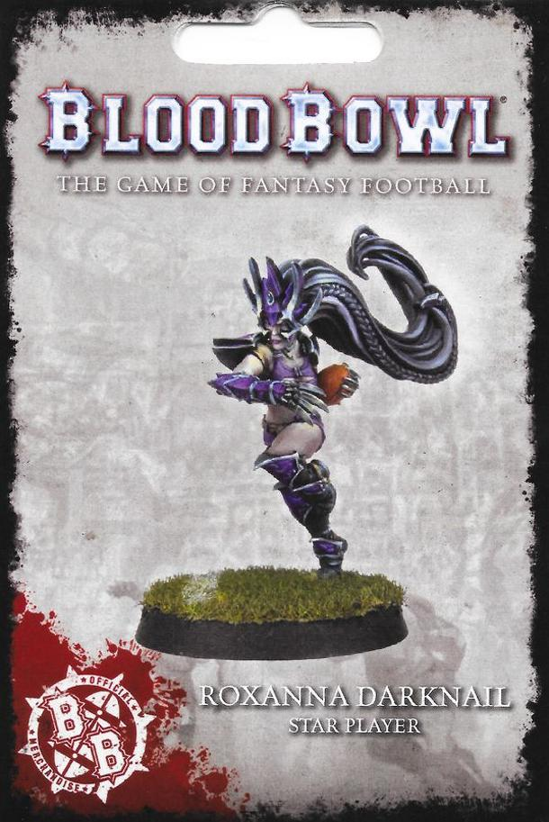 Blood Bowl (2016 edition): Roxanna Darknail – Star Player
