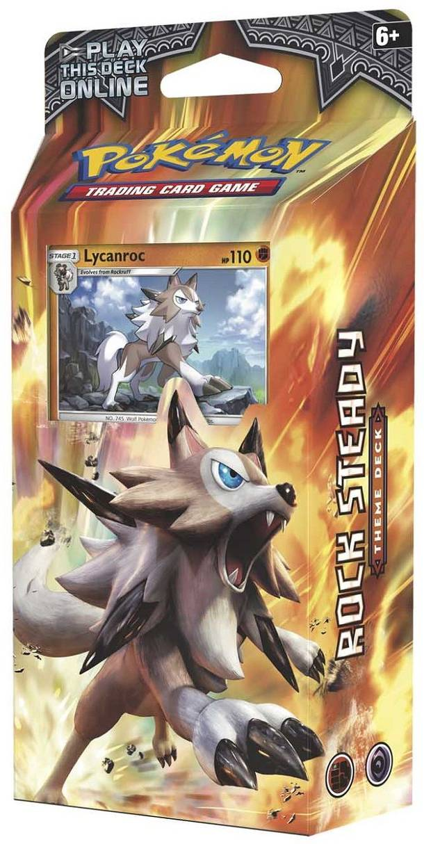 Pokémon TCG: Rock Steady Theme Deck