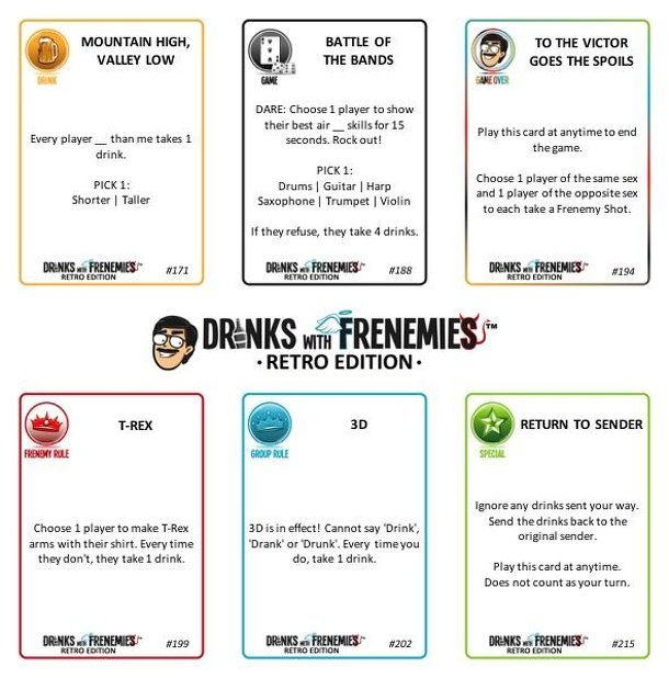Drinks With Frenemies: Retro Edition