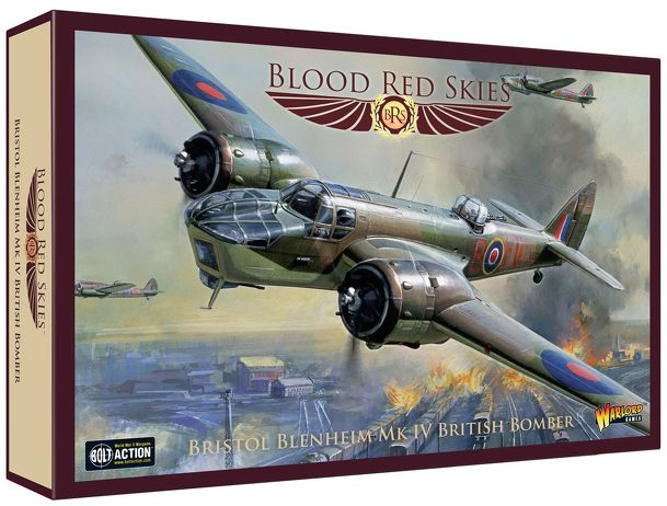 Blood Red Skies: British – Bristol Blenheim Mk IV Bomber