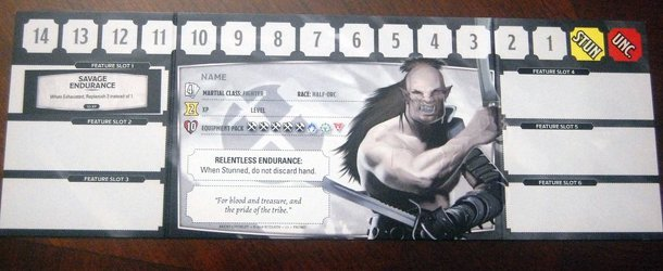 Dragonfire: Fighter Half-Orc Promo Card