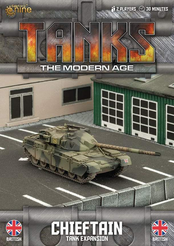 TANKS: The Modern Age – Chieftain Tank Expansion