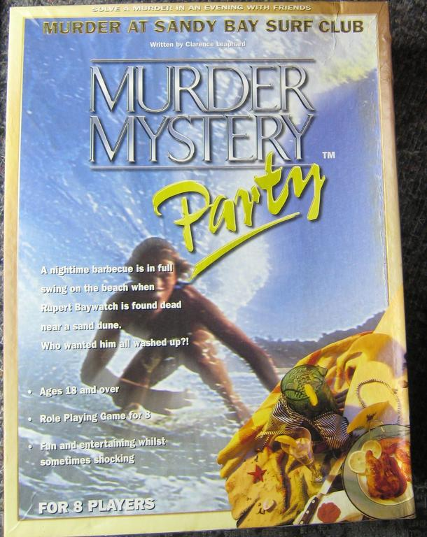 Murder Mystery Party: Murder at Sandy Bay Surf Club