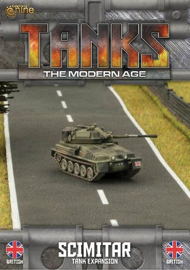 TANKS: The Modern Age – Scimitar Tank Expansion
