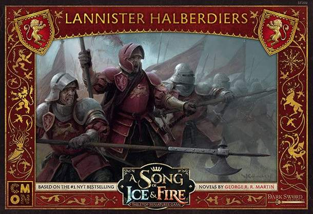 A Song of Ice & Fire: Tabletop Miniatures Game – Lannister Haldberdiers