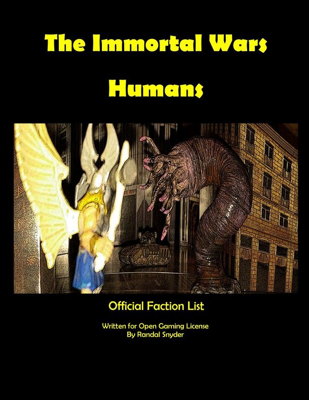 The Immortal Wars: Humans