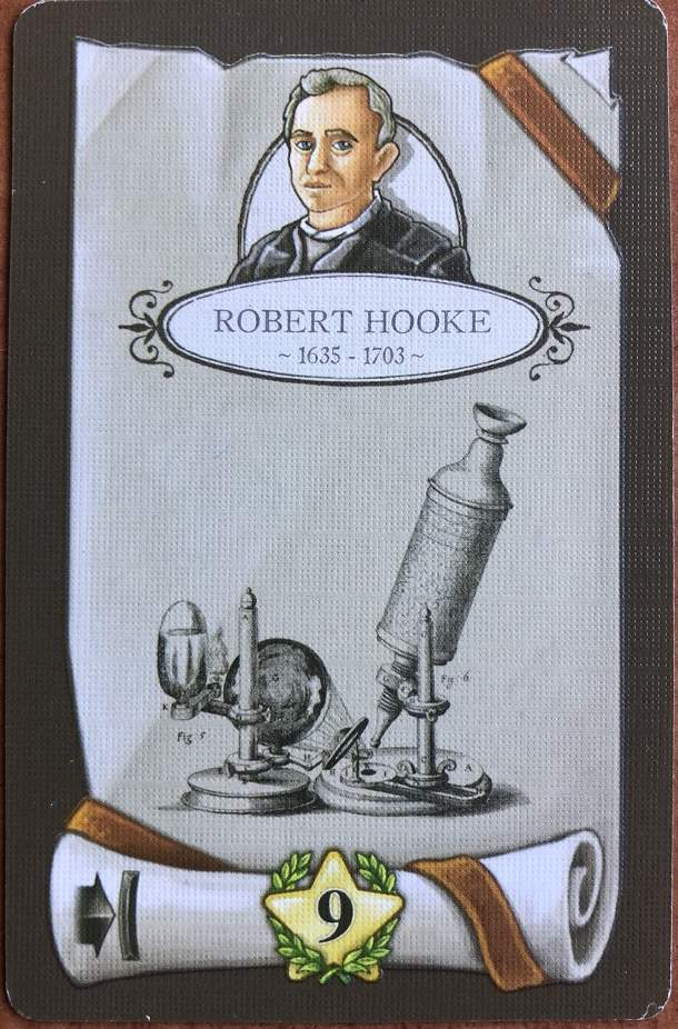 Newton: Robert Hooke Promo Card