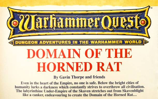 Warhammer Quest: Domain of the Horned Rat